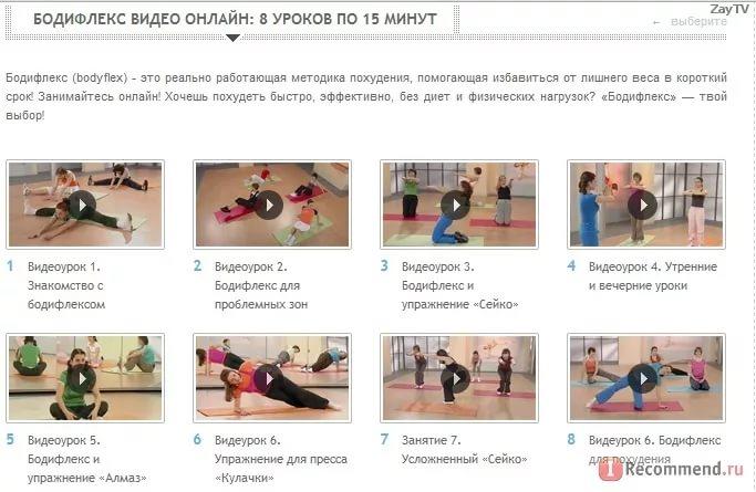 Онлайн Видео Уроки Для Похудения. Фитнес: видео-занятия для похудения и стройной фигуры
