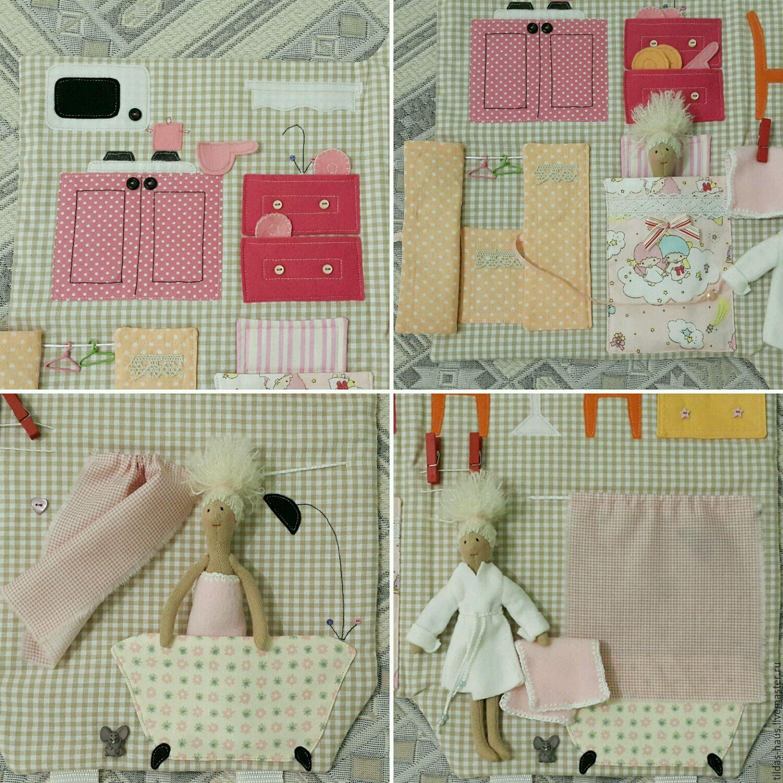 кукольный домик из ткани своими руками фото также может восстановить
