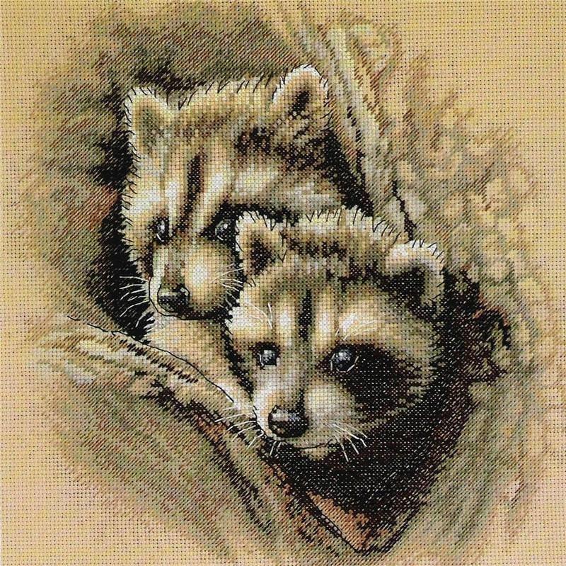 Картинки животных для вышивки крестиком