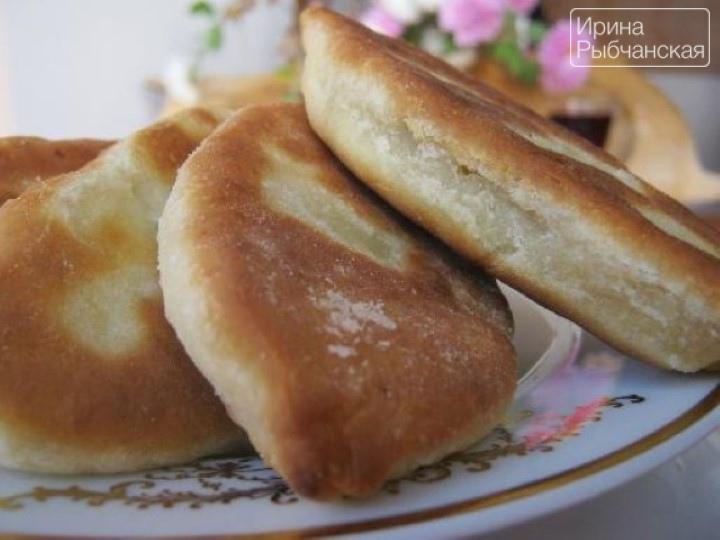 тесто на кефире для пирожков жареных
