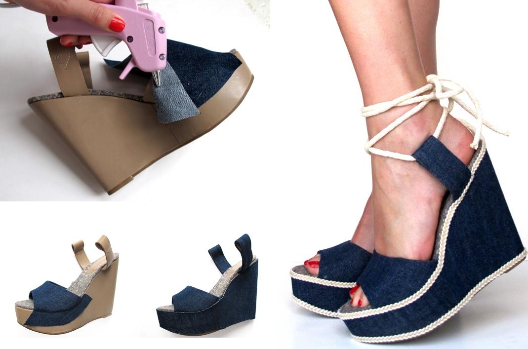 Новая жизнь старой обуви своими руками
