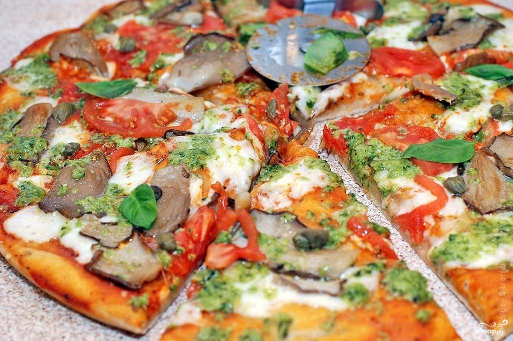 Настоящая итальянская пицца рецепт с фото пошагово