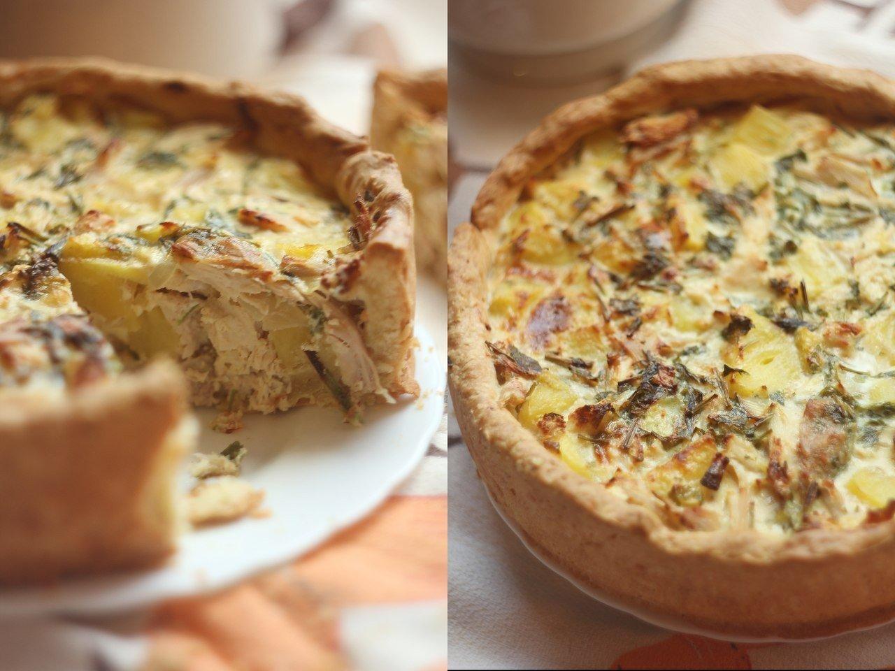 сияние пирог с курицей и картофелем фото валерия художественное