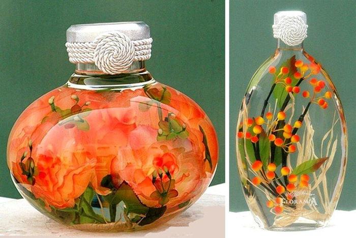 Картинки цветы в глицерине