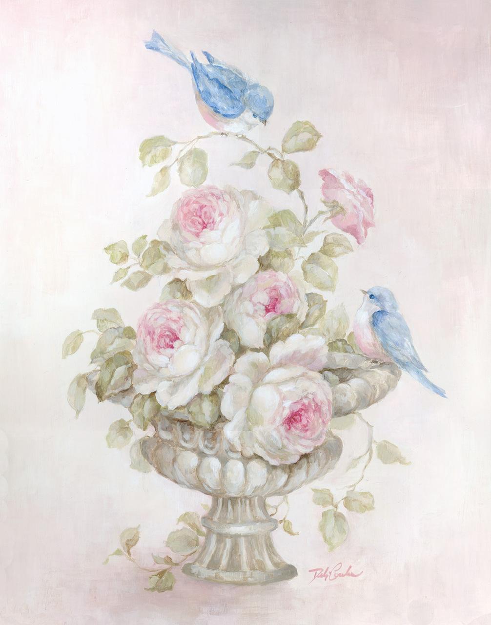 этой картинки розы в стиле шебби шик одной