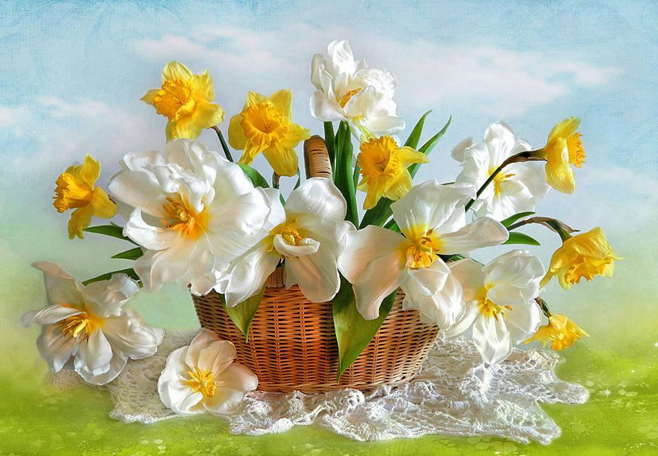 Праздник цветов открытки