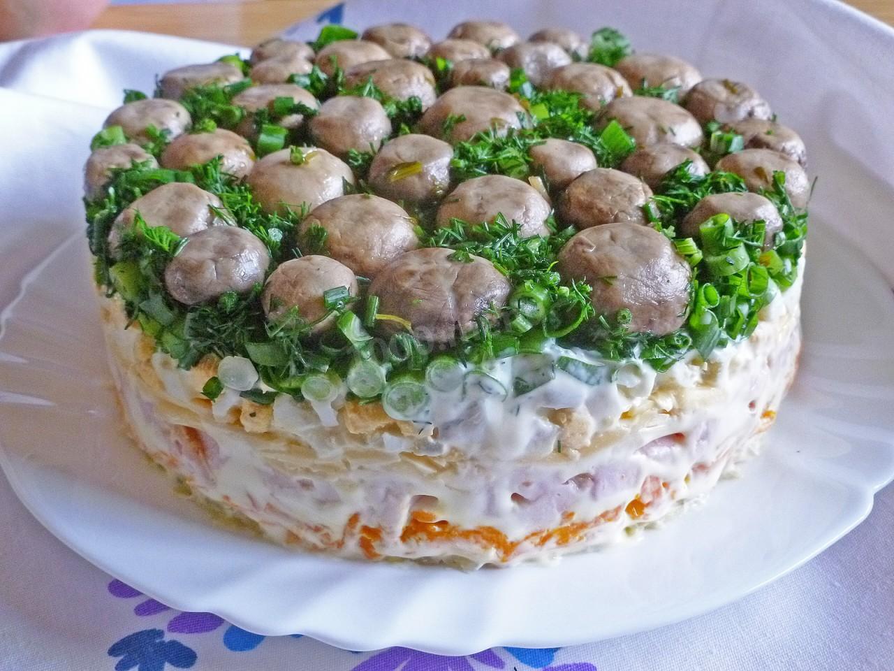 Рецепт простого бисквитного торта с фото