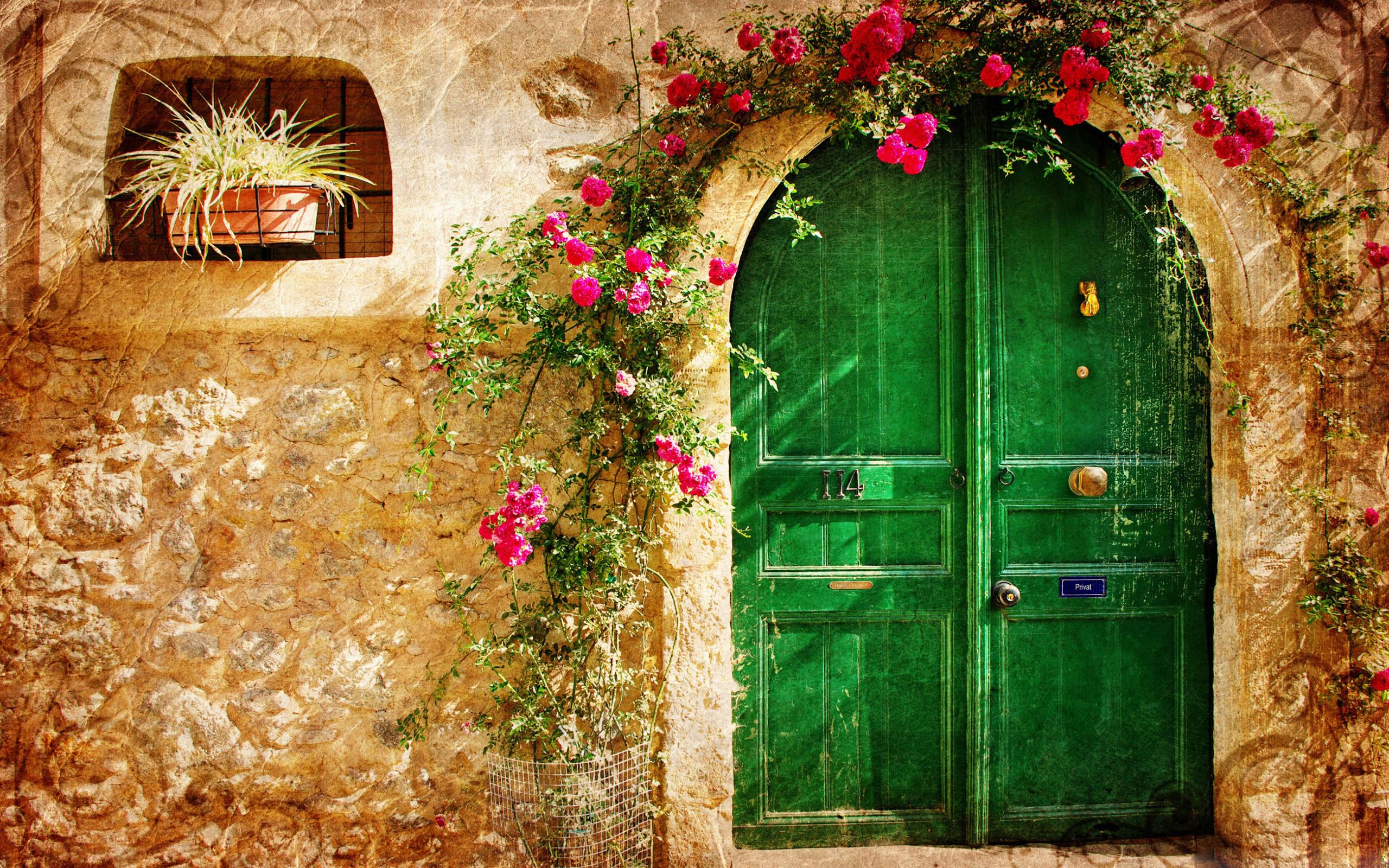 картинка двери в дом красивые челка это