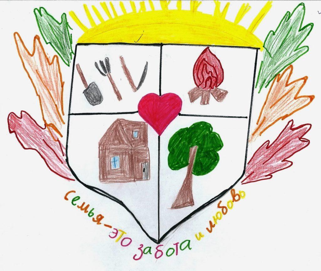 Картинка герб семьи своими руками