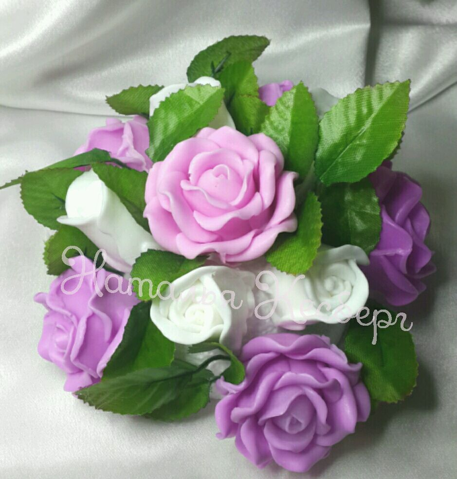 Мыло цветы из мыла