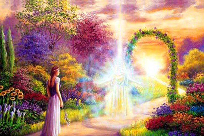 божественный сад картинки сегодня решил написать