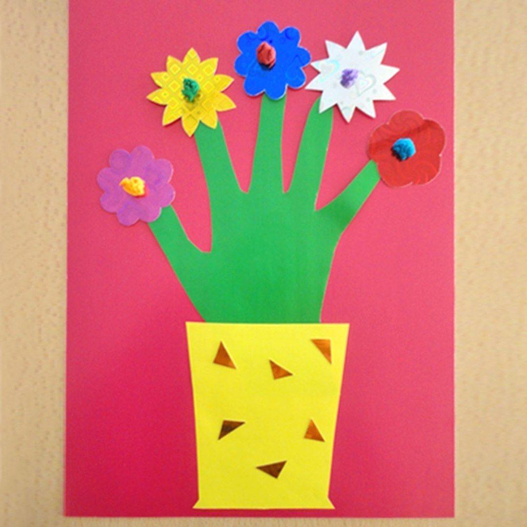 Ниже представлены примеры поделок, которые дети мастерили своими руками к международному женскому дню 8 марта.