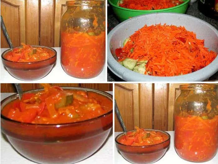 салат кубанский на зиму рецепты с фото во-вторых, мне