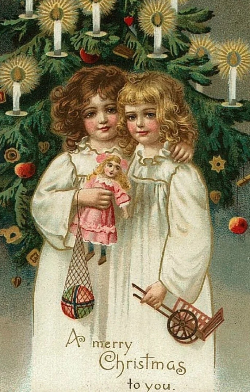 Иностранные открытки с рождеством, картинки