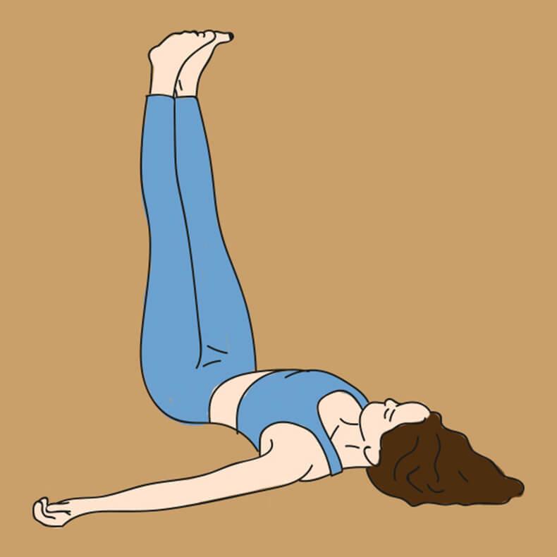 Делайте это упражнение всего 1 раз в 2 дня. Спина перестанет болеть сразу же новые фото