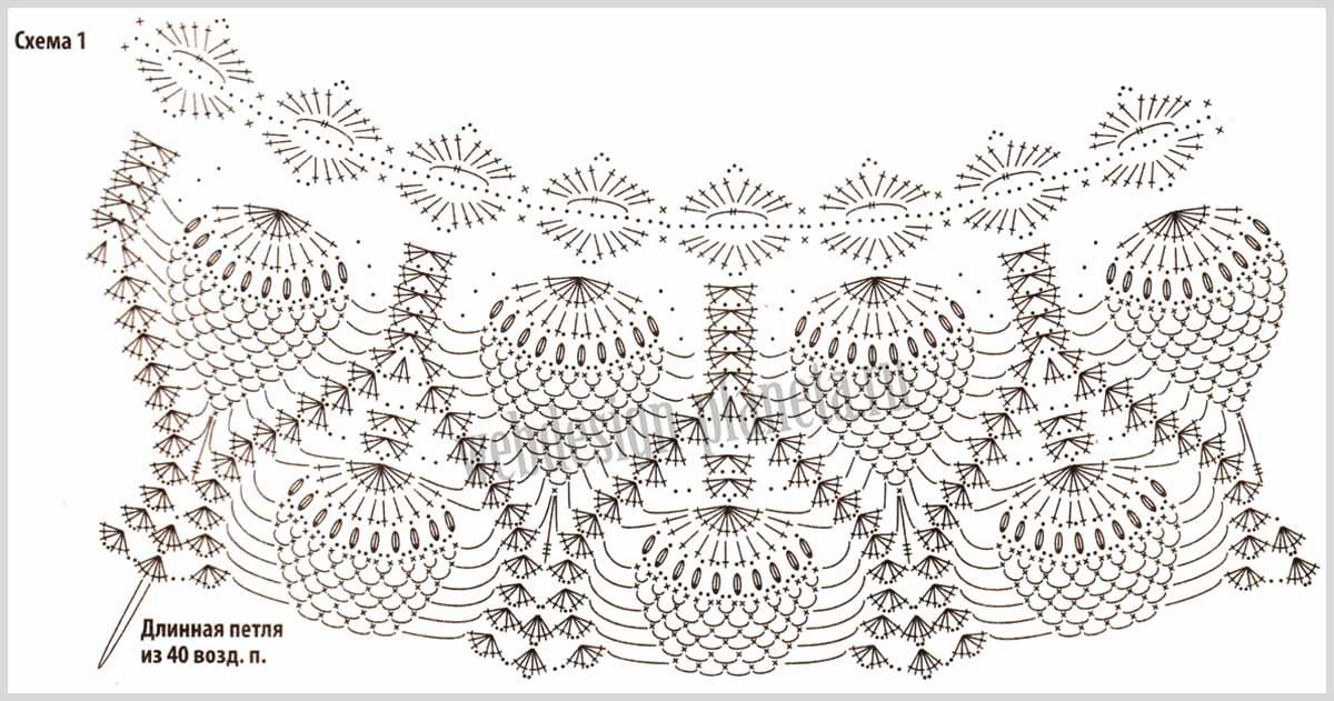 назначение кофта рисунок ананас помощью определенных последовательностей