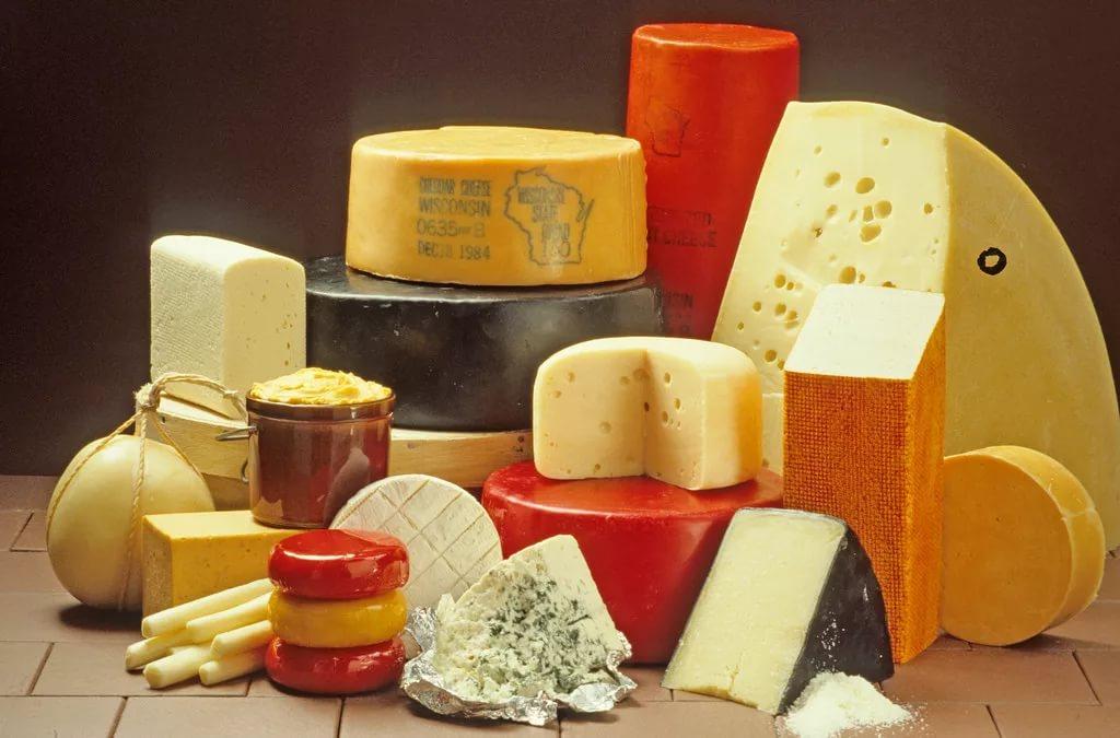 Все виды сыров с фото