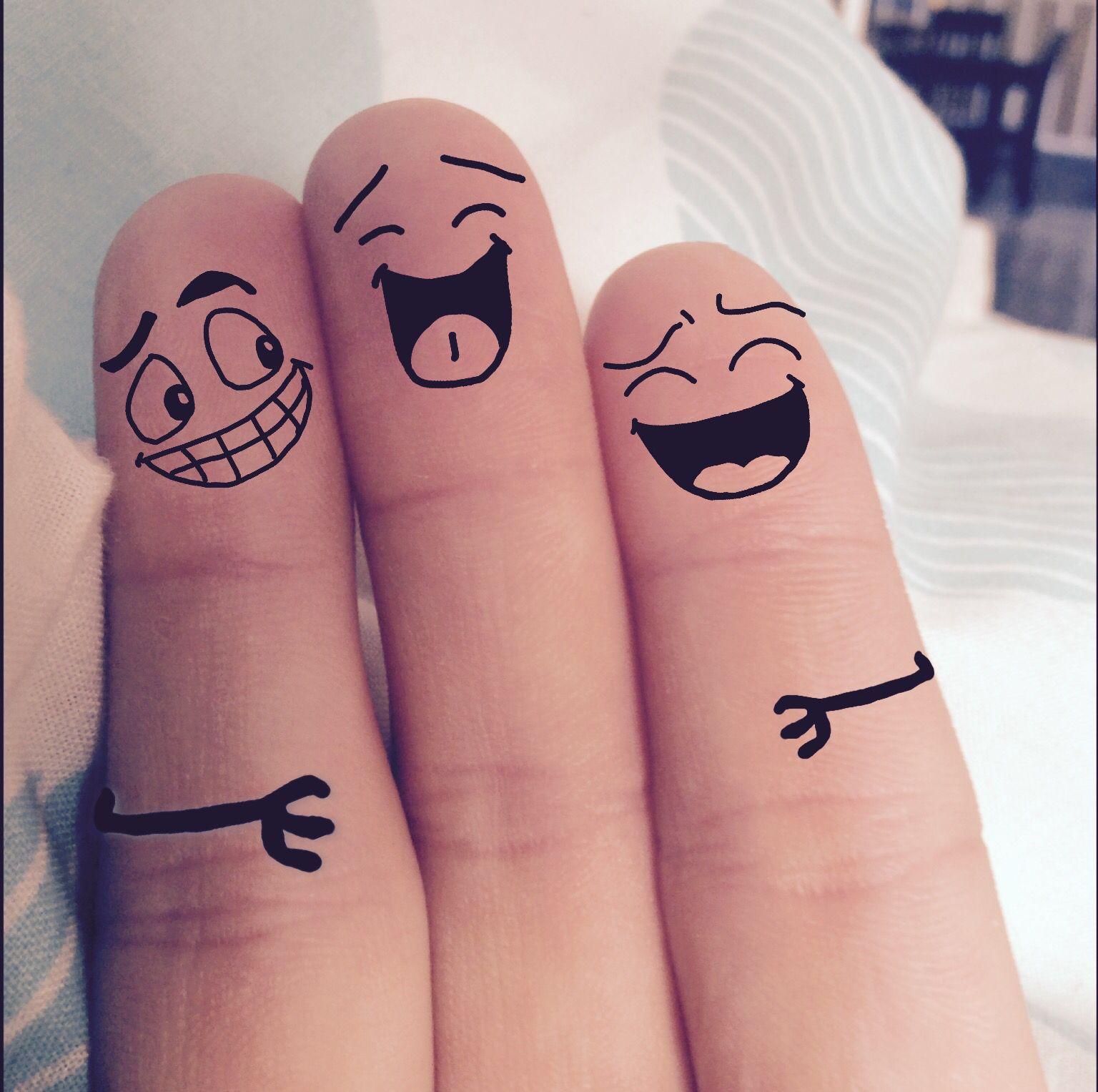 Прикольные рисунки для друзей