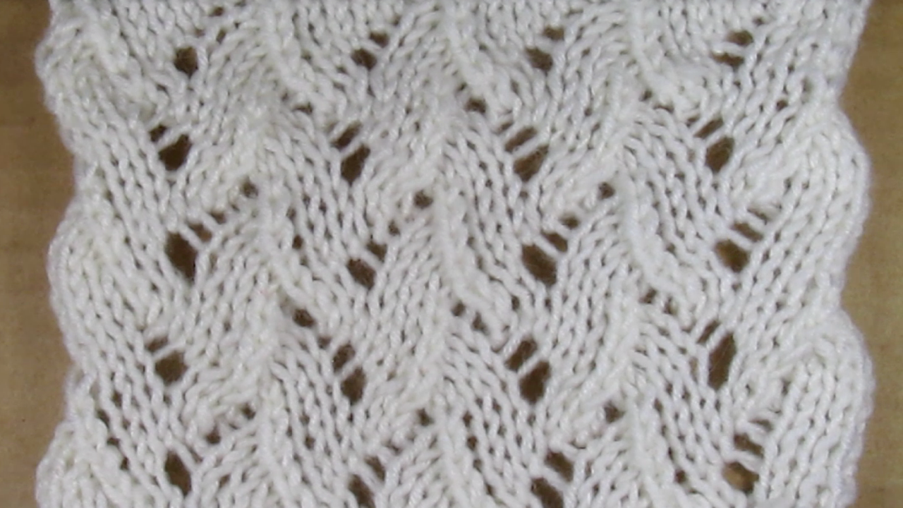 Схема ажурный спицами узор фото 158