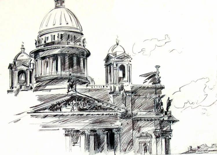 картинки санкт-петербурга хорошего качества карандашом после
