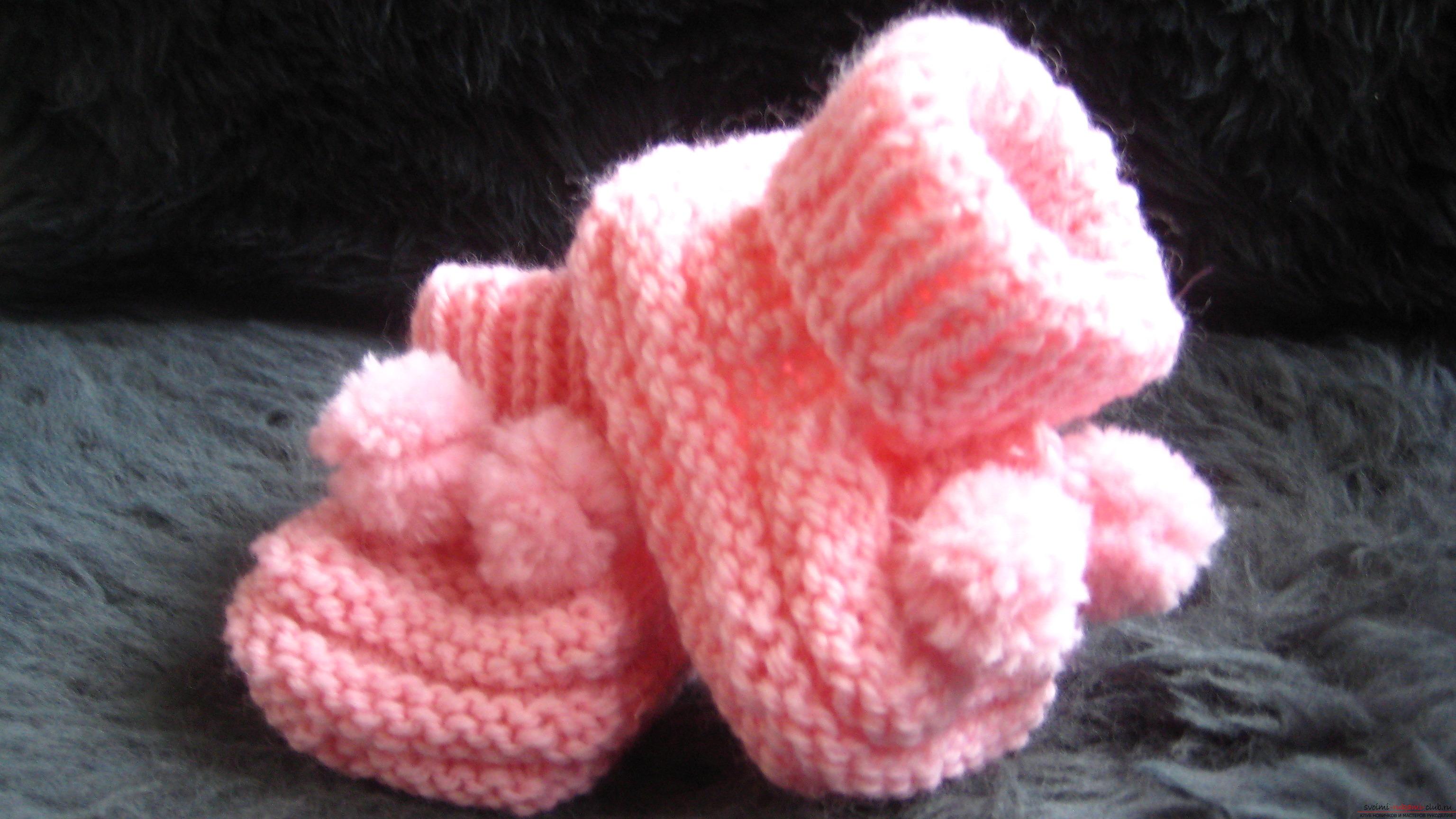 Вязание пинеток своими руками фото 314