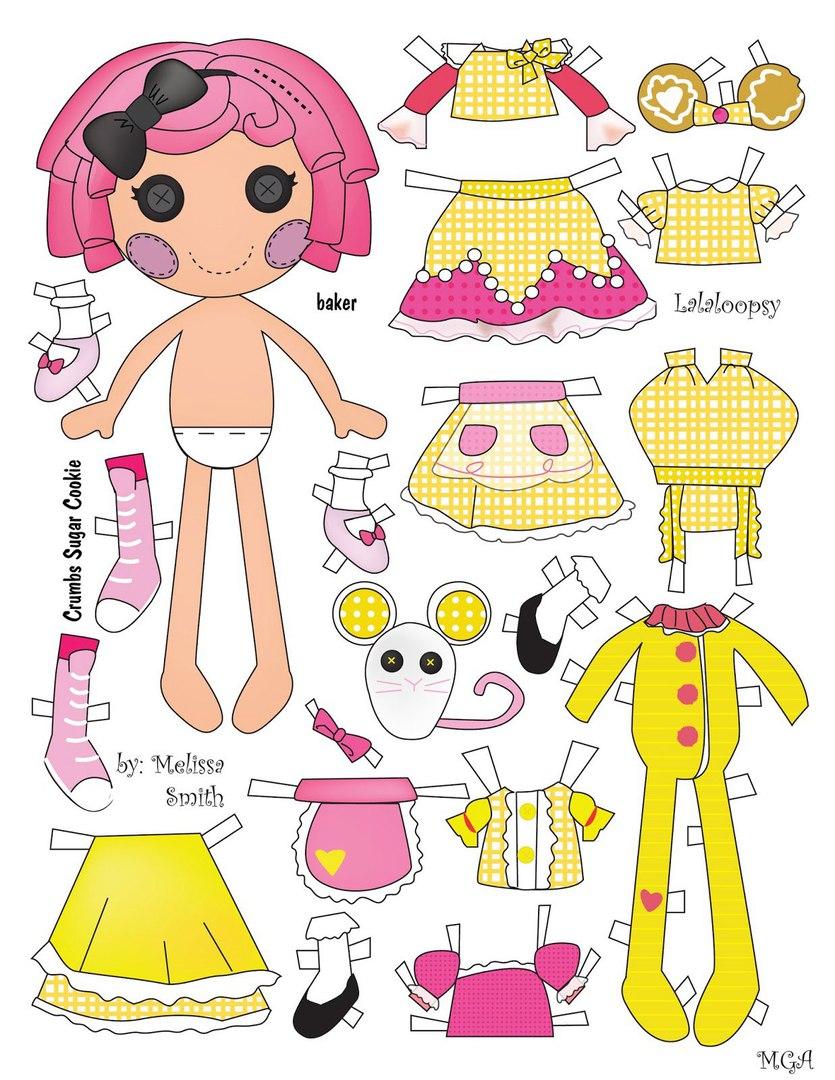 Картинки поделки для кукол из бумаги