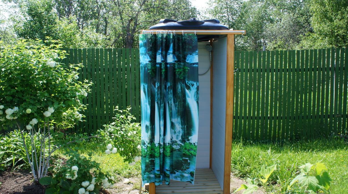 Простейший летний душ своими руками фото 39