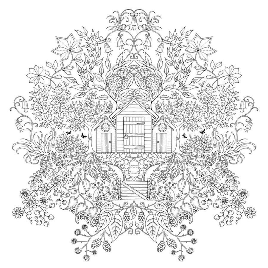 Раскраска джоанны басфорд