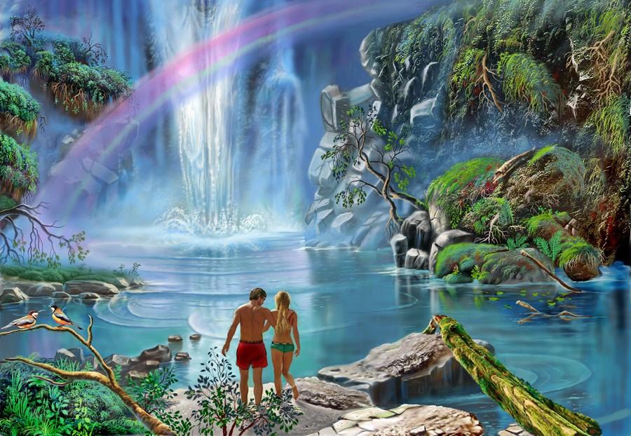 Картинка сказочный водяной красивая