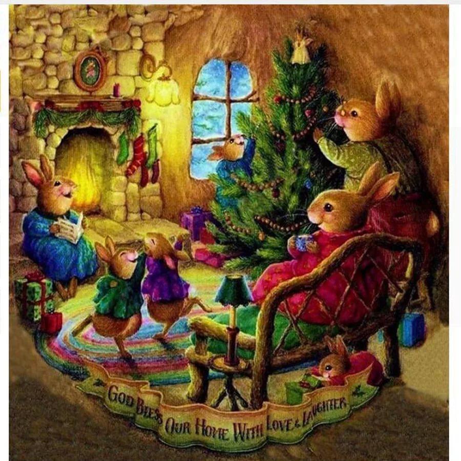 Сказочного нового года картинки с мышкой