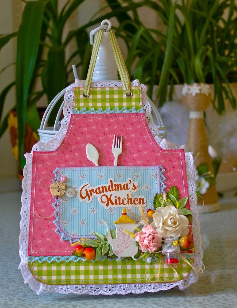 Открытка книжка для бабушки