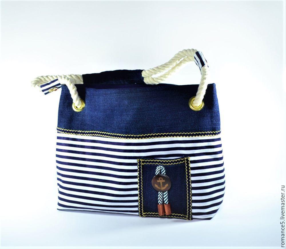 dd5284b130dd Шьем летнюю сумку в морском стиле - Ярмарка Мастеров - ручная работа,  handmade · zoom_in