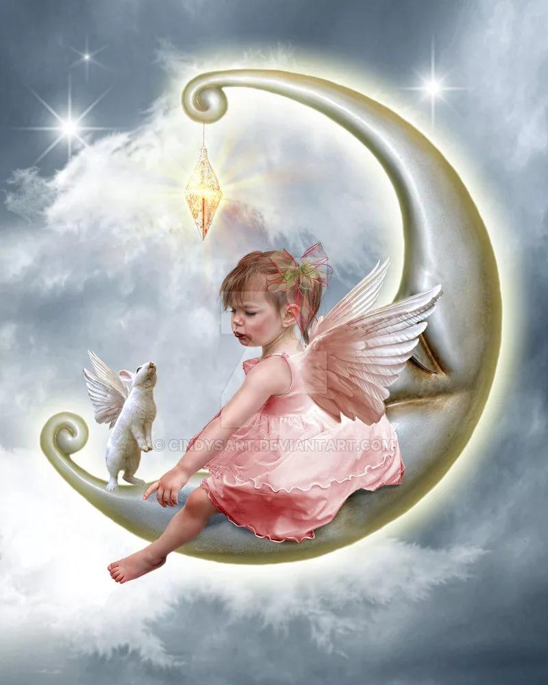 Надписи для, открытки с ангелами и крыльями