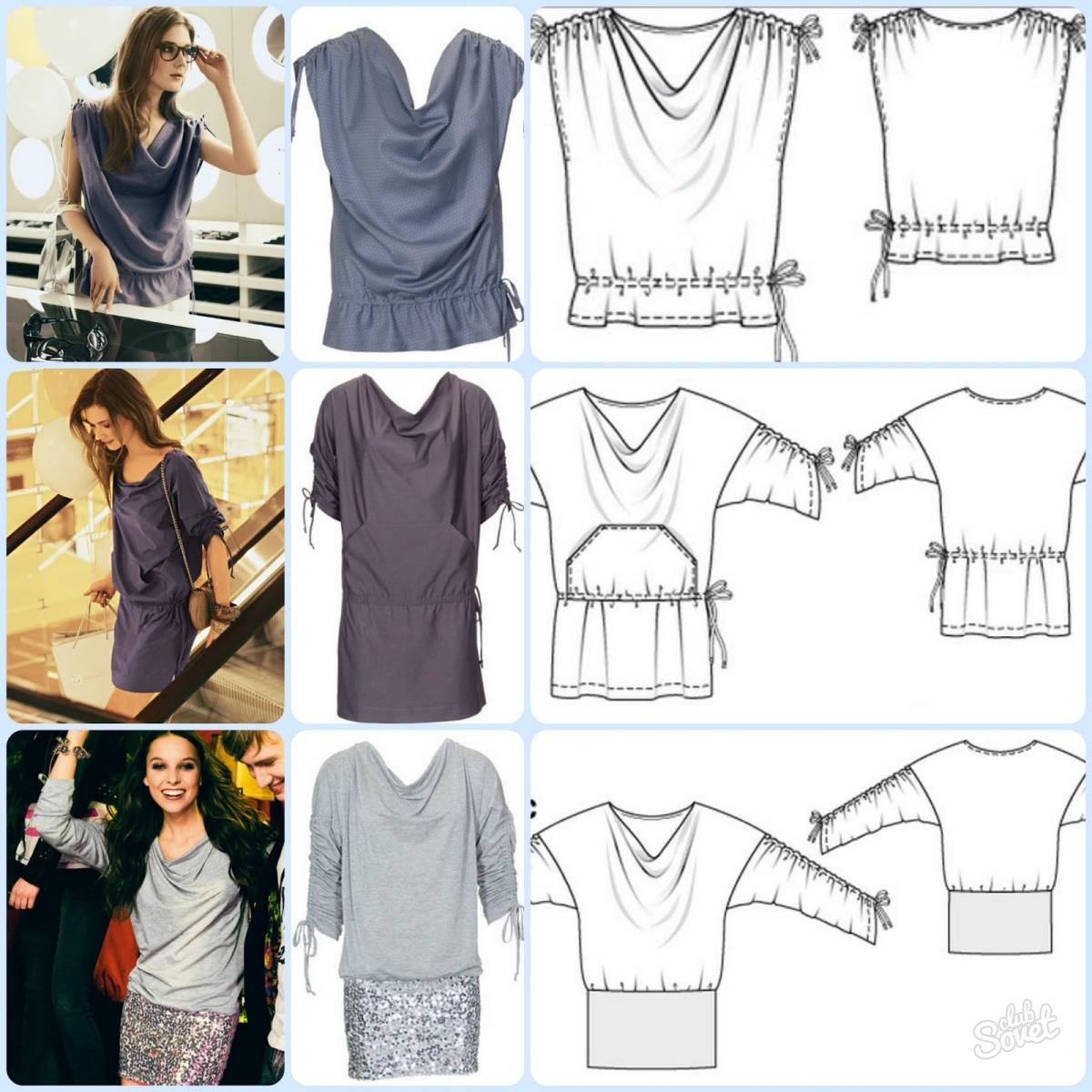 fc74466ba68 Как быстро сшить блузку без выкройки своими руками. Как ...