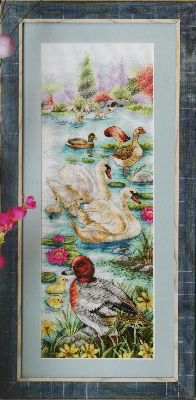 Вязание гуси лебеди