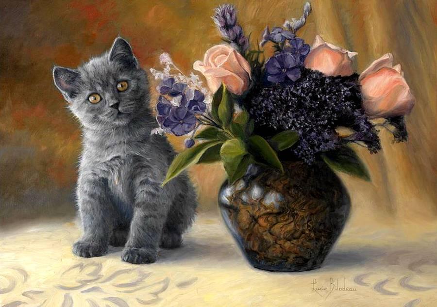 Картинки с кошками авторские