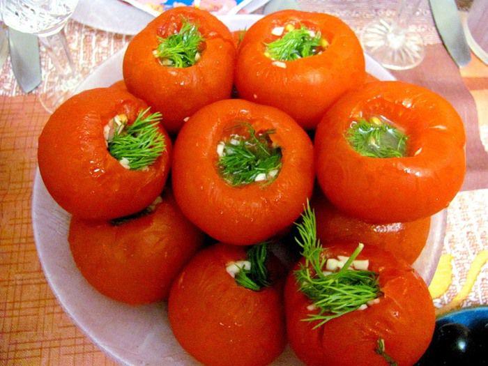вот помидоры быстрой засолки рецепт с фото конце