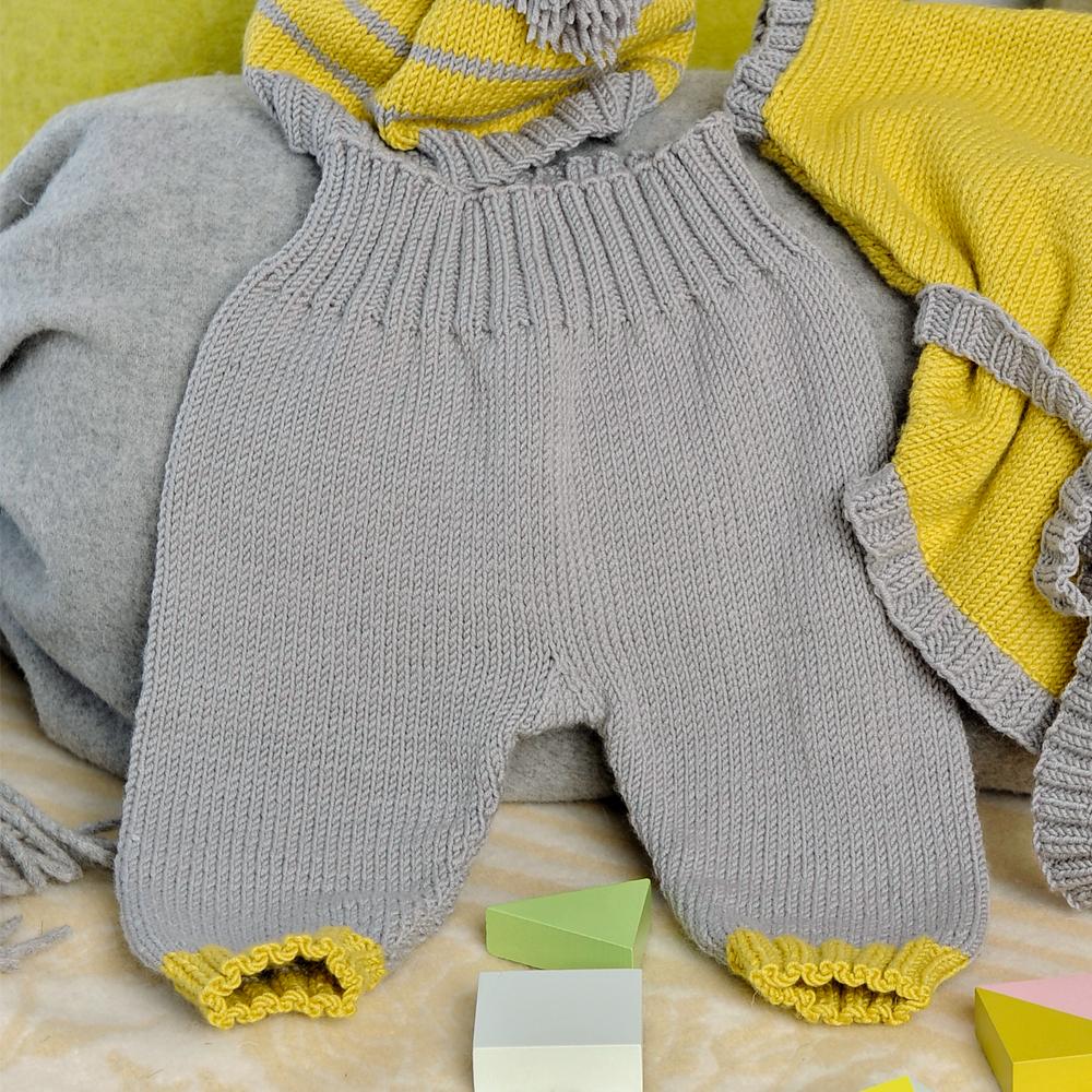 штанишки для малыша схема вязания спицами вяжем брюки на Verena