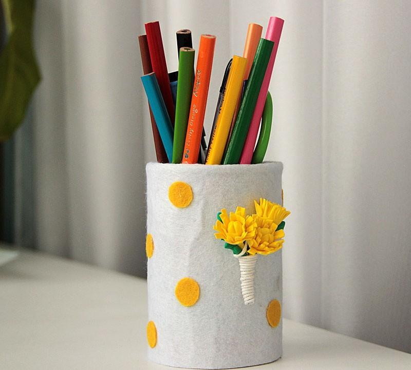 Картинки подставки для карандашей своими руками