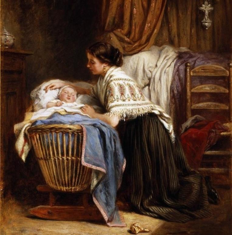 картинка мама поет колыбельную другой представляют