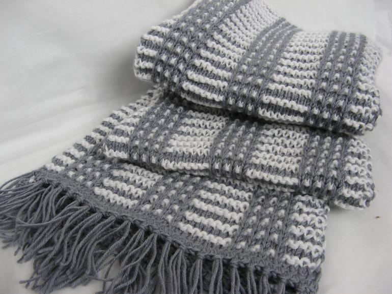 мужской шарф мужской шарф спицами ура я это сделала не