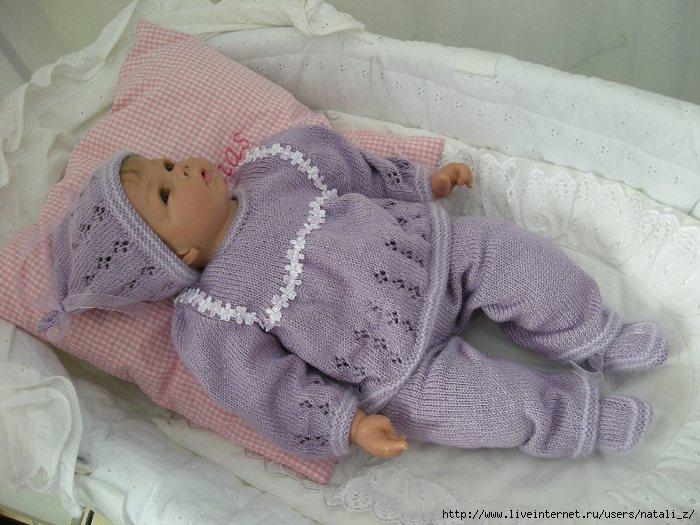 сиреневый костюм на девочку детям постила