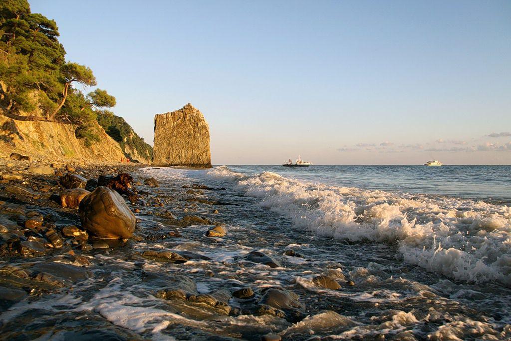 нас фото море пляж черное море далеко каждое
