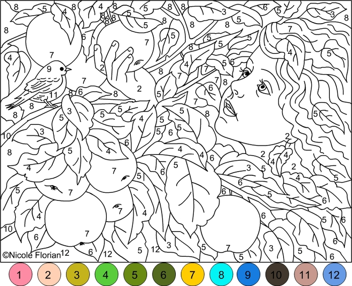 Успокаивающие раскраски для детей и взрослых   дети   Постила