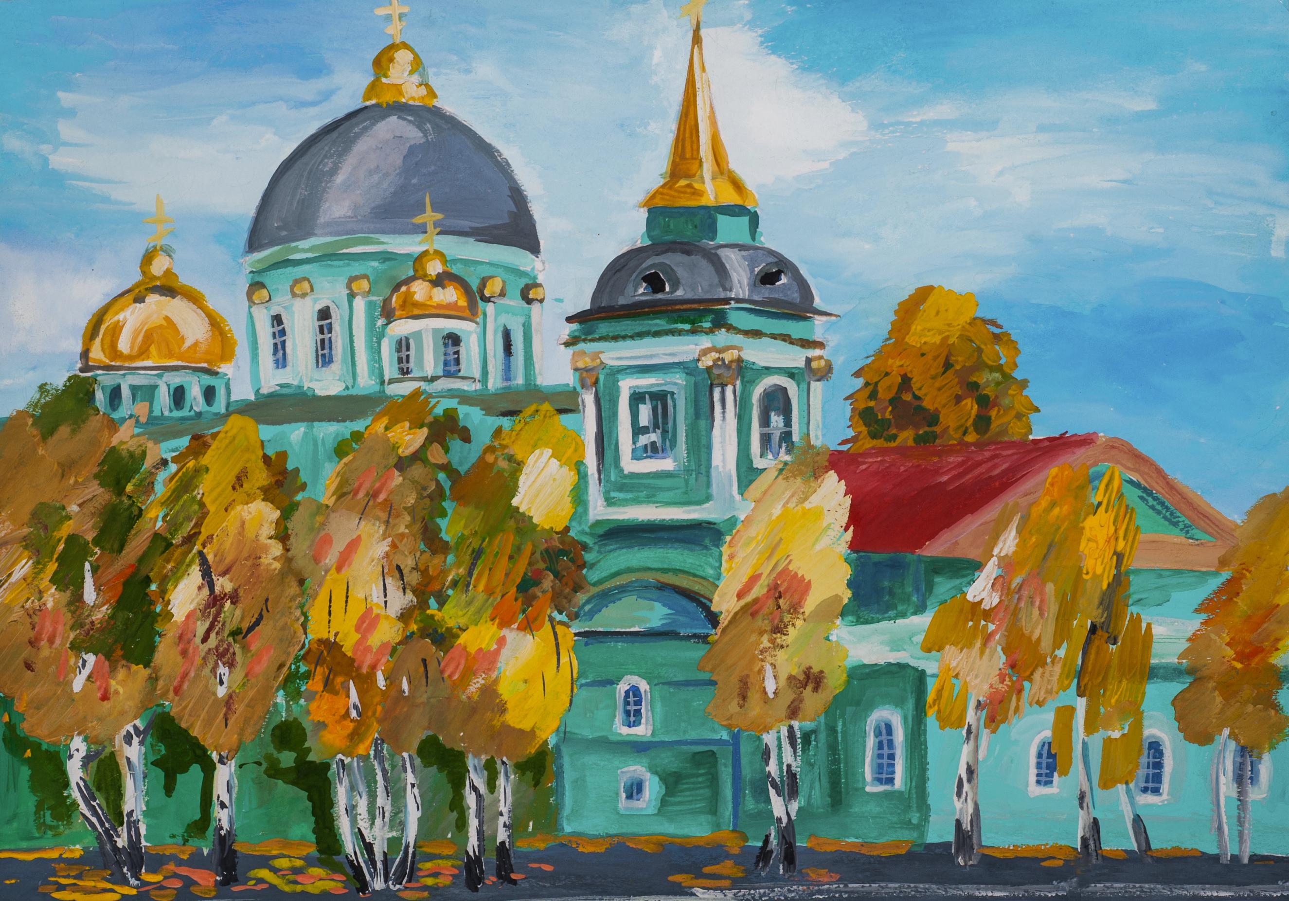 Алене месяцев, храмы россии картинки детей