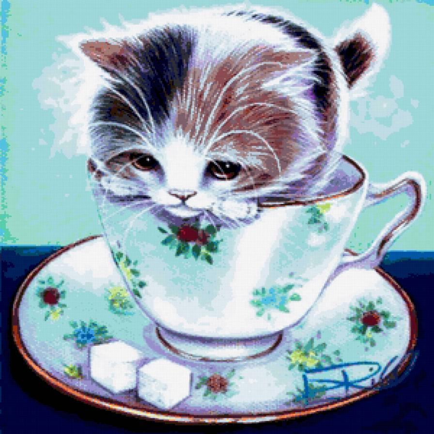 пророка перед котята в кружке картинки уголки можно