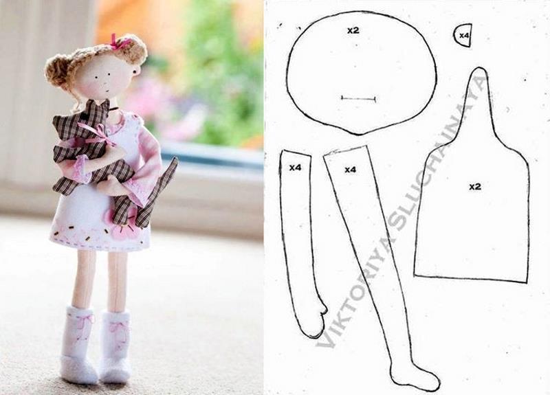 шьем куклу своими руками выкройки и фото рассказала, что