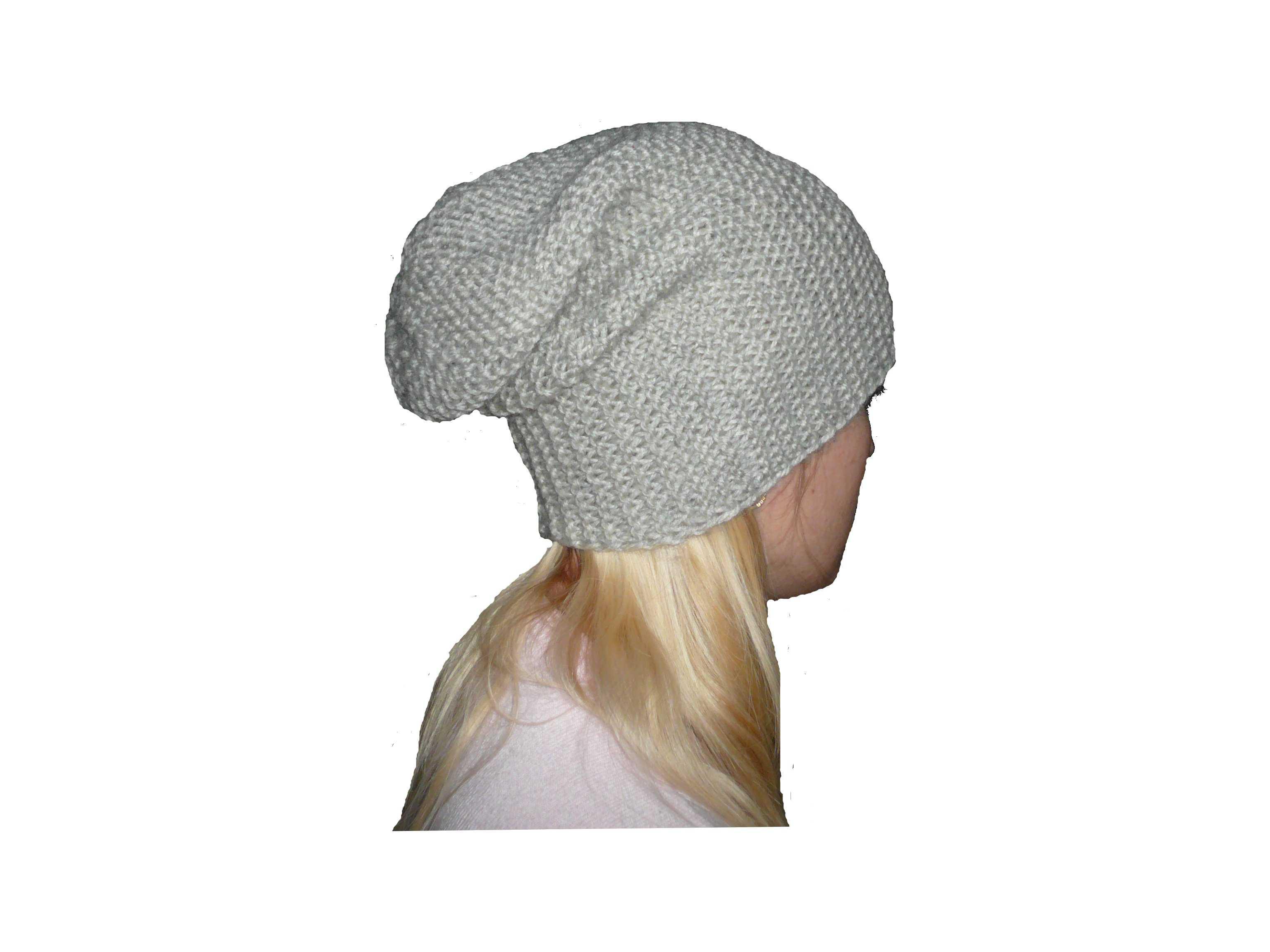 шапка чулок поперечного вязания петелики шапочкиносочки