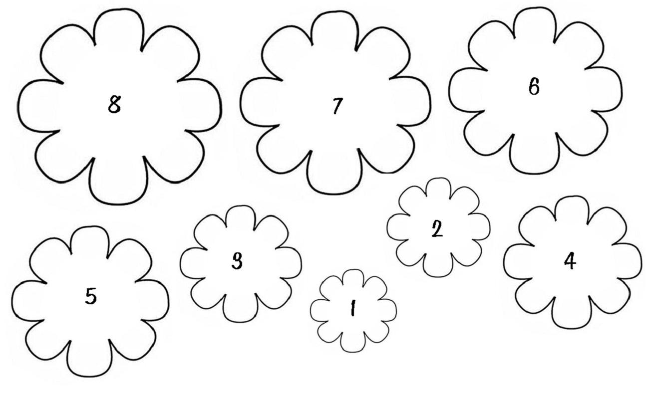 Днем рождения, открытка ваза с цветами из бумаги своими руками шаблоны