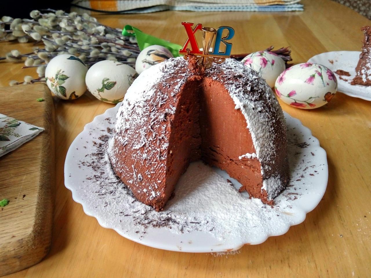 творожно шоколадная пасха фото рецепт прожить тобой